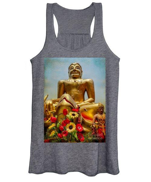 Flowers For Buddha  Women's Tank Top