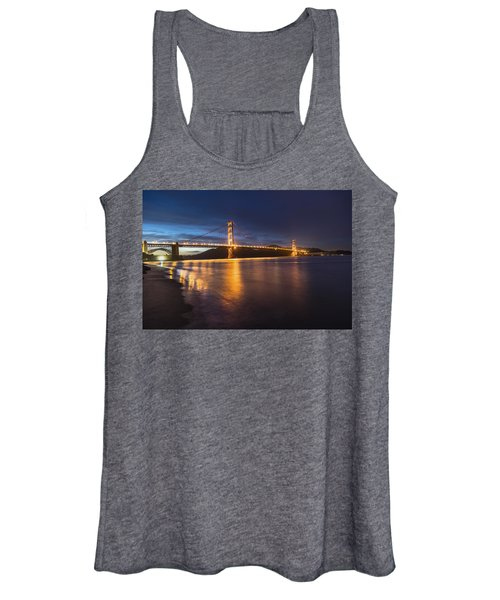 Golden Gate Blue Hour Women's Tank Top