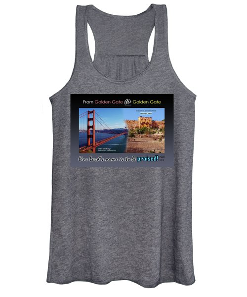 Golden Gate To Golden Gate Women's Tank Top
