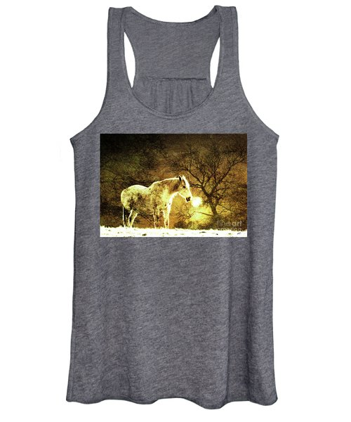 Golden Horse Women's Tank Top
