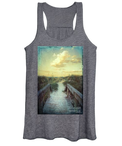 Golden Pathway Women's Tank Top