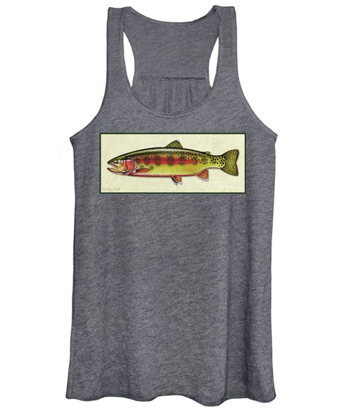 Golden Trout Id Women's Tank Top