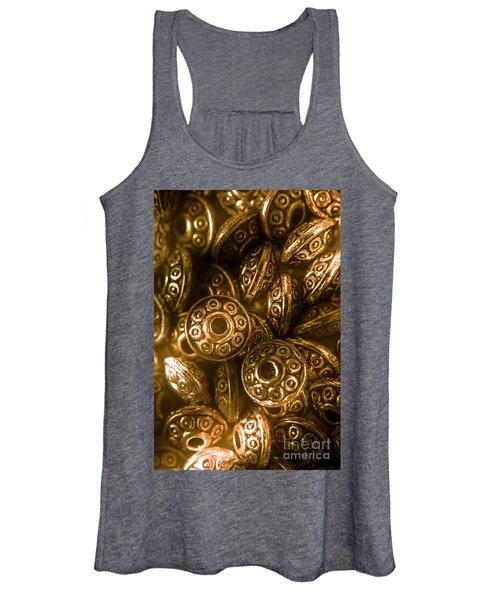Golden Ufos From Egyptology  Women's Tank Top