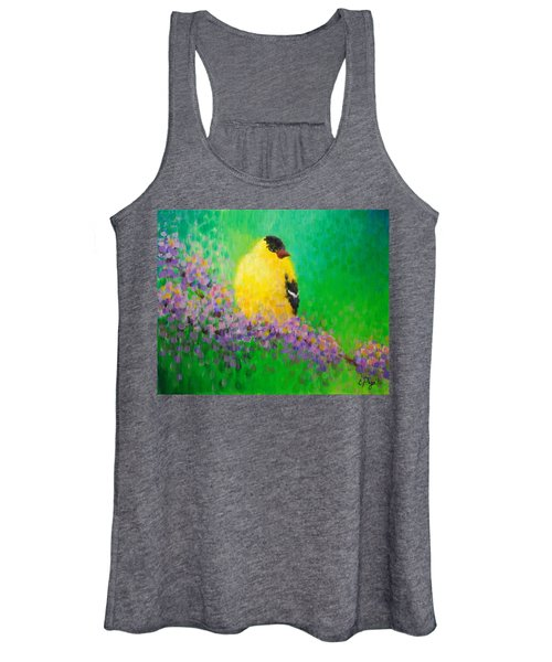 Goldfinch II Women's Tank Top