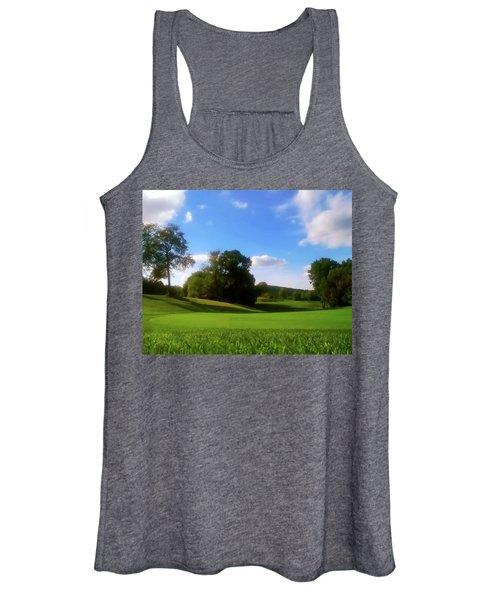 Golf Course Landscape Women's Tank Top