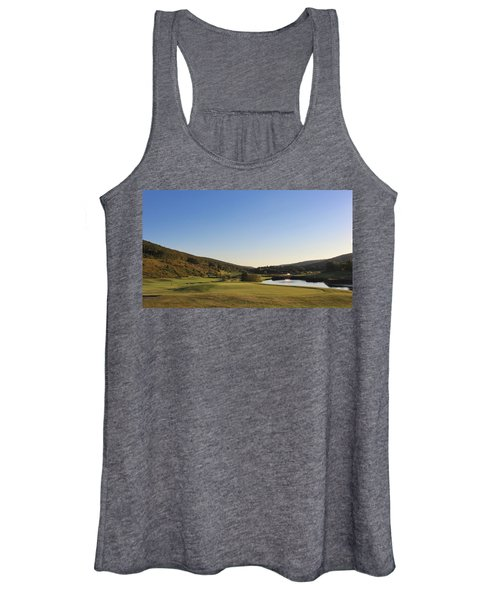 Golf - Natural Curves Women's Tank Top