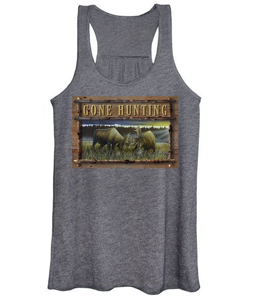 Gone Hunting - Locked At Lac Seul Women's Tank Top