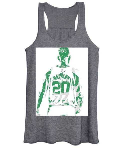 Gordon Hayward Boston Celtics Pixel Art T Shirt 5 Women's Tank Top