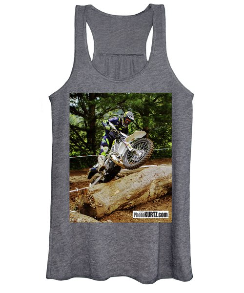 Graham Jarvis At 2017 Kenda Tennessee Knockout Enduro Women's Tank Top