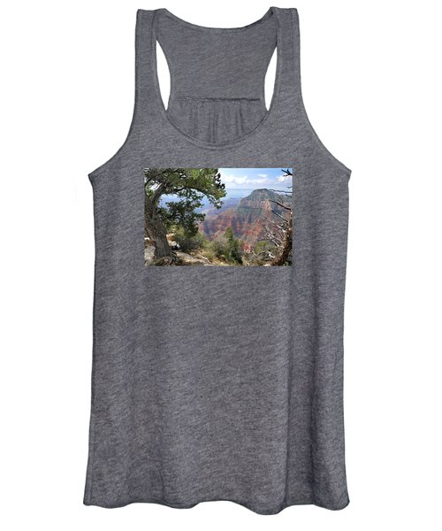Grand Canyon North Rim - Through The Trees Women's Tank Top