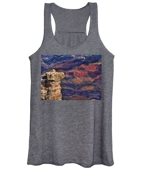 Grand Canyon Stacked Rock Women's Tank Top