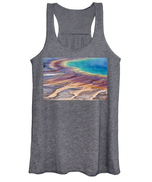 Grand Prismatic Spring 2 Women's Tank Top