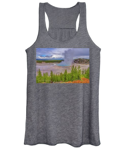 Grand Prismatic Spring Overlook Yellowstone Women's Tank Top
