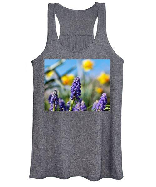 Grape Hyacinth Women's Tank Top