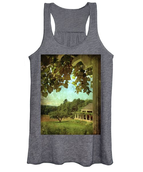 Grapes On Arbor  Women's Tank Top