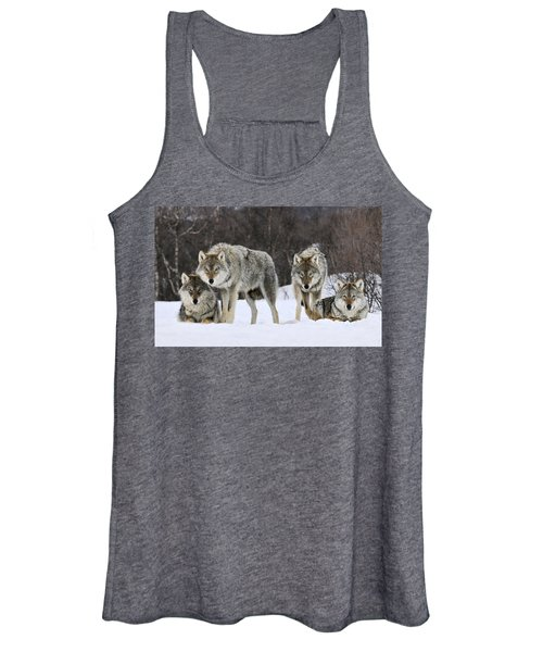 Gray Wolves Norway Women's Tank Top