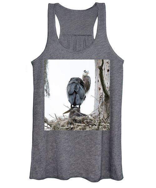 Great Blue Heron Women's Tank Top