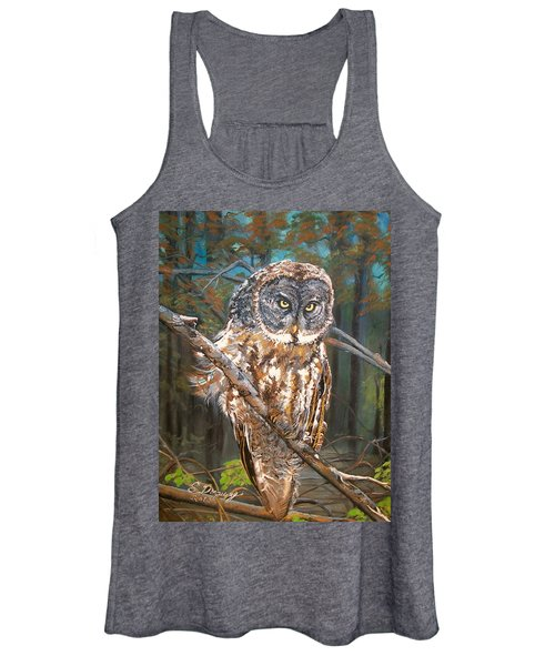 Great Grey Owl 2 Women's Tank Top