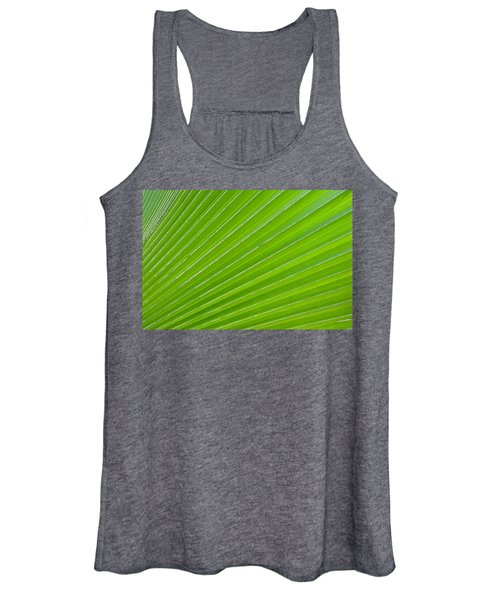 Green Abstract No. 1 Women's Tank Top