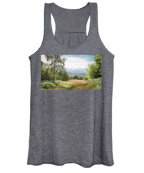 Green Corridor Women's Tank Top