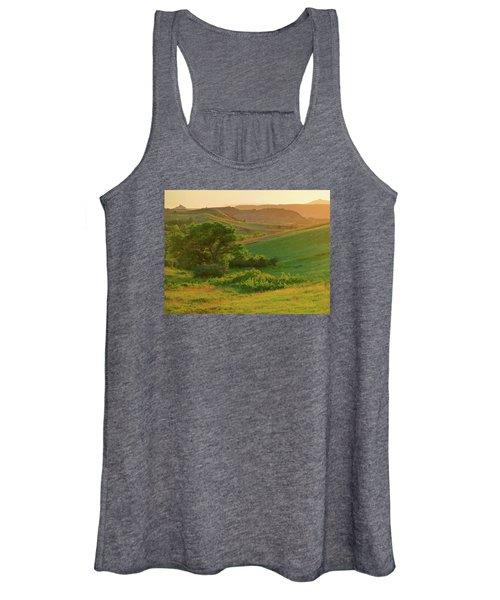 Green Dakota Dream Women's Tank Top