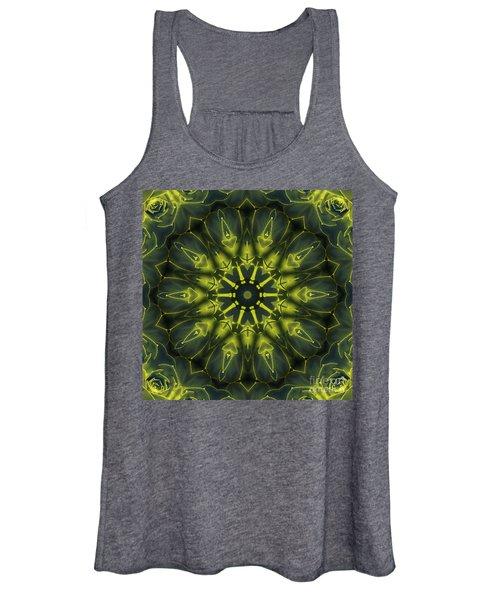 Succulent Mandala Women's Tank Top