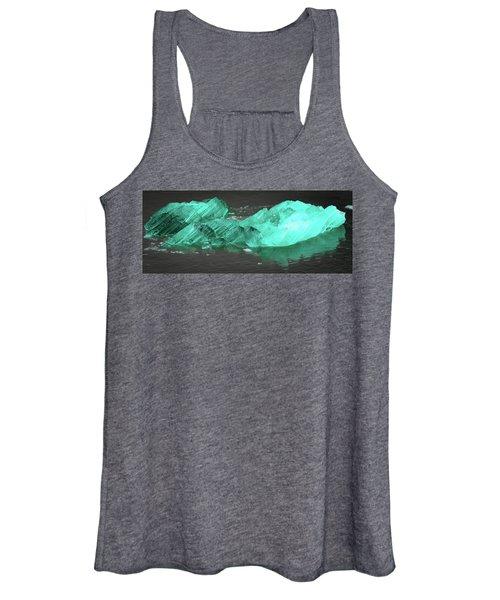 Green Iceberg Women's Tank Top
