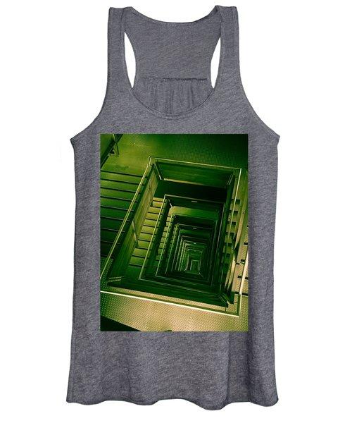Green Infinity Women's Tank Top