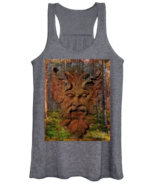 Green Man Of The Forest 2016 Women's Tank Top