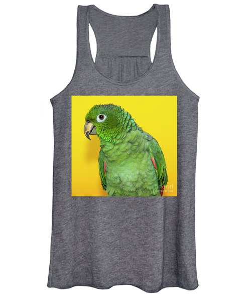 Green Parrot Women's Tank Top