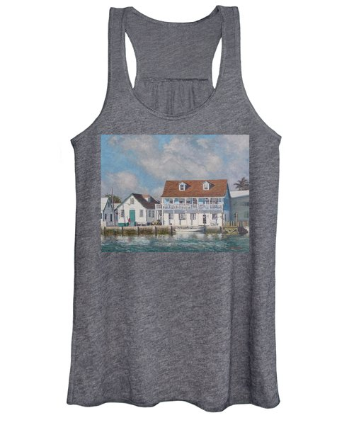 Green Turtle Cay Past And Present Women's Tank Top