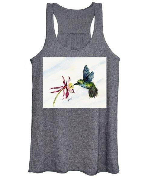 Green Violet-ear Hummingbird Women's Tank Top