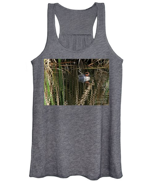 Green Winged Teal  Women's Tank Top