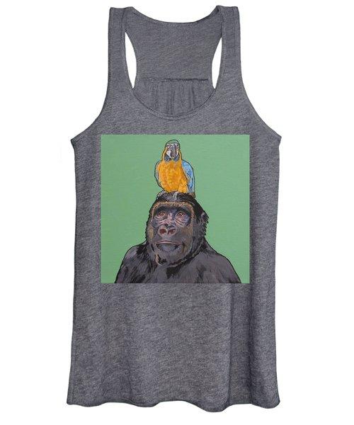 Gregory The Gorilla Women's Tank Top