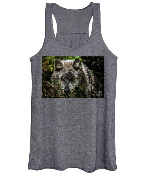 Grey Wolf Women's Tank Top