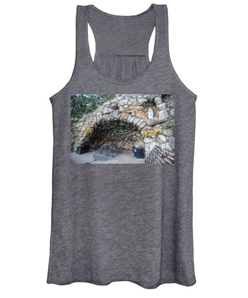 Grotto Of Our Lady Of Lourdes 2 Women's Tank Top
