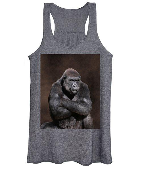 Grumpy Gorilla Women's Tank Top