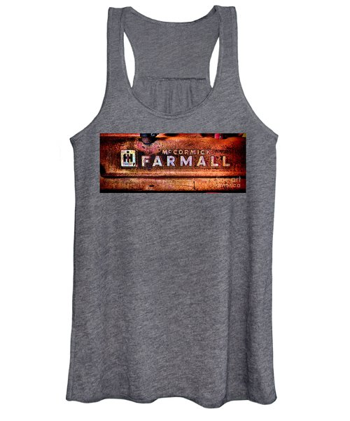 Grunge Mccormick Farmall  Women's Tank Top