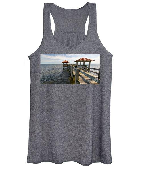 Gulf Coast Pier Women's Tank Top