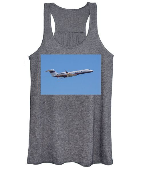 Gulfstream Gv Private Jet Women's Tank Top