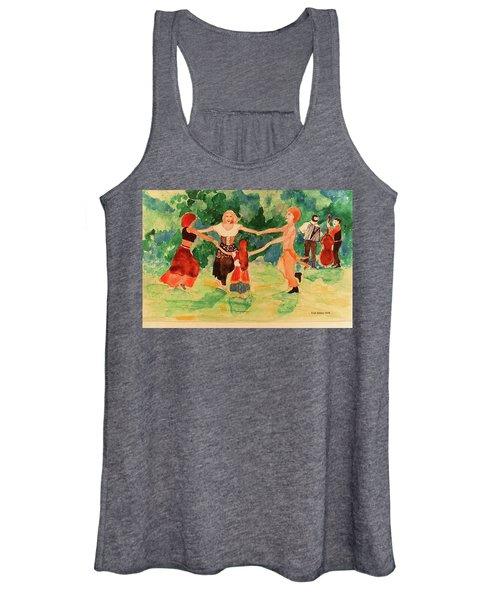 Gypsies Dancing Women's Tank Top