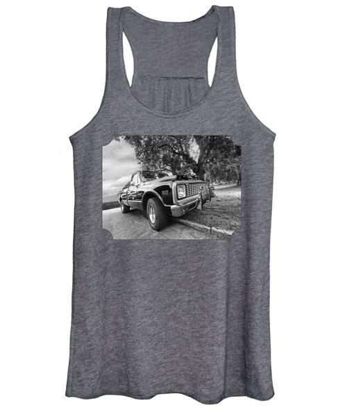 Halcyon Days - 1971 Chevy Pickup Bw Women's Tank Top