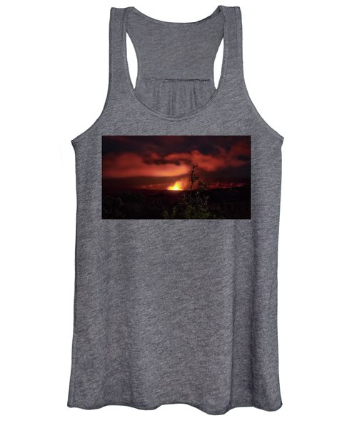 Halemaumau Crater Women's Tank Top