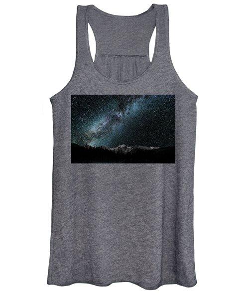 Hallet Peak - Milky Way Women's Tank Top