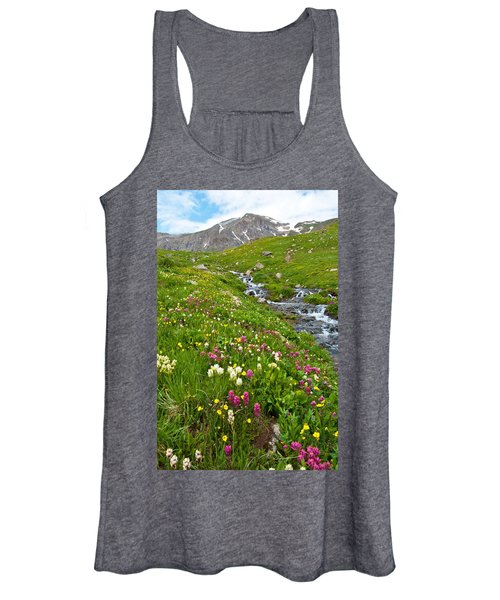Handie's Peak And Alpine Meadow Women's Tank Top