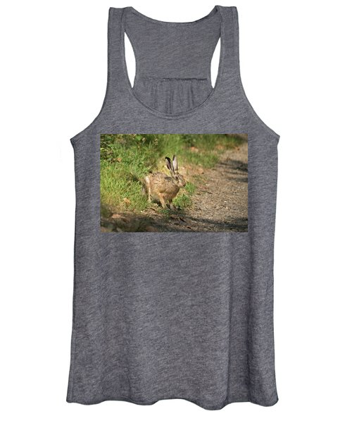 Hare In The Woods Women's Tank Top