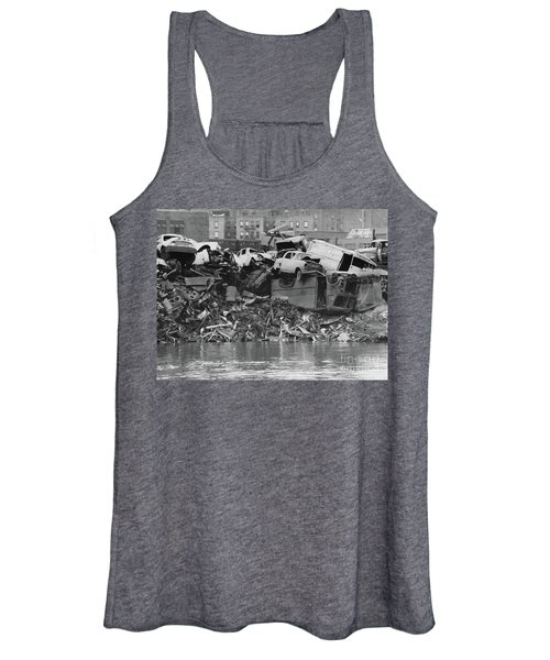 Harlem River Junkyard, 1967 Women's Tank Top