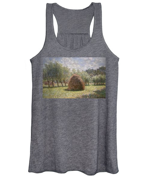 Haystacks At Giverny Women's Tank Top