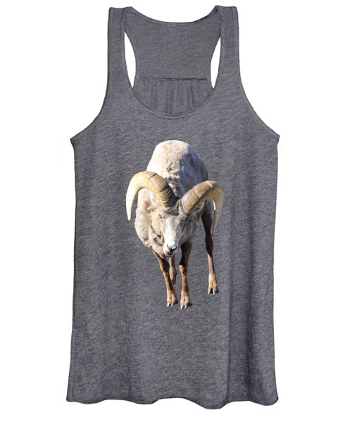 Women's Tank Top featuring the photograph Head-on by Shane Bechler