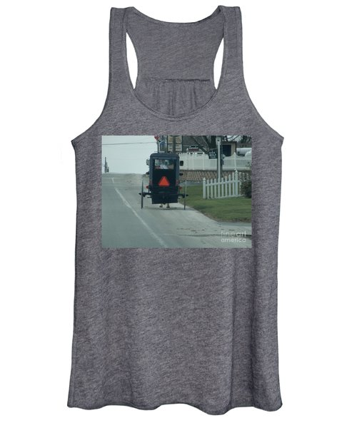 Heading Home From The Store Women's Tank Top